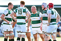 Ben Betts of Ealing Trailfinders looks on during a break in play. Greene King IPA Championship match, between Ealing Trailfinders and Bedford Blues on April 20, 2019 at the Trailfinders Sports Ground in London, England. Photo by: Patrick Khachfe / Onside Images
