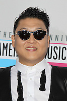 LOS ANGELES, CA - NOVEMBER 18: PSY at the 40th American Music Awards held at Nokia Theatre L.A. Live on November 18, 2012 in Los Angeles, California. Credit: mpi20/MediaPunch Inc. NortePhoto