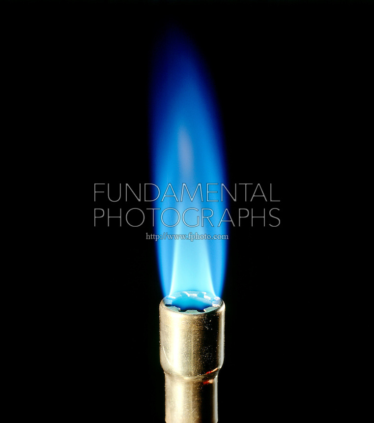 PROPANE FLAME OF BUNSEN BURNER - C3H8<br />
