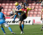 Partick Thistle v St Johnstone&hellip;10.09.16..  Firhill  SPFL<br />Kris Doolan and Joe Shaughnessy<br />Picture by Graeme Hart.<br />Copyright Perthshire Picture Agency<br />Tel: 01738 623350  Mobile: 07990 594431