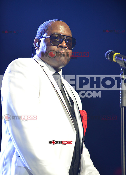 MIAMI, FL - MAY 05:  Johnny Gill of New Edition performs at the Bank United Center in support of their tour 'Road To the 30th' on May 5, 2012 in Miami, Florida.  (photo by: MPI10/MediaPunch Inc.)
