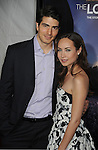 "HOLLYWOOD, CA. - December 07: Brandon Routh and Courtney Ford  attend the ""Lovely Bones"" Los Angeles Premiere at Grauman's Chinese Theatre on December 7, 2009 in Hollywood, California."