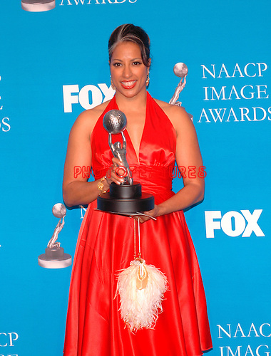 """Millicent Shelton, Diector for """"Bernie Mac Show"""" at the 37th Annual NAACP Image Awards at the Shrine Auditorium in Los Angeles, February 25th 2006..Photo by Chris Walter/Photofeatures"""
