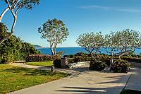 A view of Cresent Point Park, Laguna Beach, California.