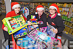 Brenda Sheehan, Mike Cotter and Elise Stack from Twohig's SuperValu, Abbeyfeale ahead of the launch of their Christmas Toy Appeal