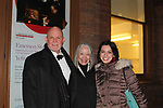 "Guiding Light's Ron Raines ""Alan Spaulding"" along with fellow singers highlighted the evening with song honoring Stephen Sondheim - A Gala Evening to support New York Festival of Song on April 19, 2017 at Carnegie Hall's Weill Recital Hall. Ron's wife Dona and daughter Charlotte and friend Michael came to the Gala to support him. (Photo by Sue Coflin/Max Photos)"