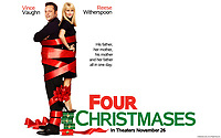 Four Christmases (2008) <br /> Wallpaper with Vince Vaughn &amp; Reese Witherspoon<br /> *Filmstill - Editorial Use Only*<br /> CAP/KFS<br /> Image supplied by Capital Pictures