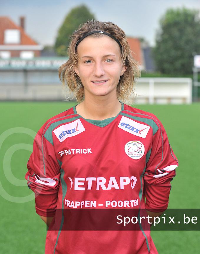 SV Zulte-Waregem Dames : Elodie Branquart.foto VDB / BART VANDENBROUCKE