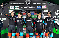 Picture by Allan McKenzie/SWpix.com - 15/05/2018 - Cycling - OVO Energy Tour Series Mens Race Round 2:Motherwell - Madison Genesis win the team award on the evening.