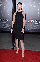 BURBANK, CA - FEBRUARY 05: Francesca Eastwood at the Premiere Of Warner Bros. Pictures' 'The 15:17 To Paris' at Steven J. Ross Theater/Warner Bros Studios Lot on February 5, 2018 in Burbank, California. <br /> CAP/MPI/DE<br /> &copy;DE//MPI/Capital Pictures