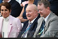January 2, 2020: Australian tennis legend Rod Laver watching the Men's Singles Final match between 2nd seed NOVAK DJOKOVIC (SRB) and 5th seed DOMINIC THIEM (AUT) on Rod Laver Arena in the  on day 14 of the Australian Open 2020 in Melbourne, Australia. Photo Sydney Low