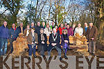 REST: A new resting bench was unveiled by the Mayor of Kerry Pat Leahy on Sunday in Ballyseedy Woods South side, and sculptured by Solomon. Front l-r: Kathleen Cronin (Killorglin), Grace Mecrye (Killarney), Pat Leahy (mayor of Kerry) and  Joan Rogers. Back were, Kevin Boyle (KCC), Solomon(Sculpture), Owen Gleeson,Tim O'Donoghue(Nat Parks), Sheila Herlihy(Castleisland),  Joe Lynch(PAI), Rev Joe Hardy, Lily Tangneys, Fr Padraig Walsh, Maeve O'Donnell, Bridier Supple, Mary Walsh, John O'Connor, Eileen Hobbs, Jean Breen, Stan Rogers and Jerry Hurley.  .......... . ............................... ..........