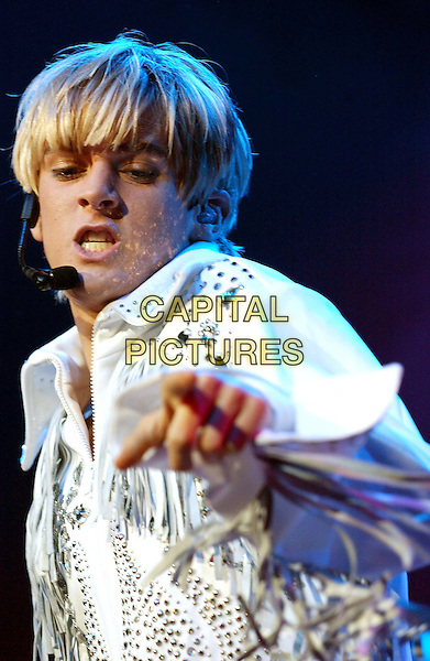 **EXCLUSIVE COVERAGE**.AARON CARTER.performs live at the Grove of Anaheim as part of his Jukebox Tour. .www.capitalpictures.com.sales@capitalpictures.com.©Capital Pictures.
