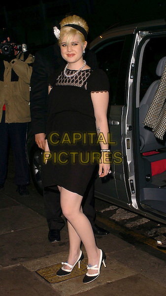 "KELLY OSBOURNE.Grand Classics - ""Incident At Oglala"" - private VIP screening at The Electric Cinema, London, UK..Macrh 20th, 2006.Ref: CAN.full length black dress tattoo alice band .www.capitalpictures.com.sales@capitalpictures.com.©Capital Pictures"