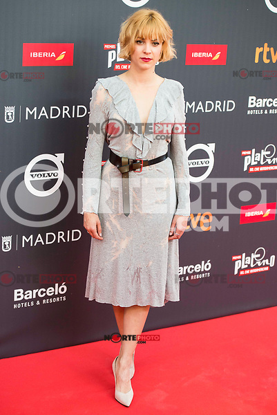 "Maggie Civantos attends to the presentation of the ""Premios Platino"" at Palacio de Cristal in Madrid. April 07, 2017. (ALTERPHOTOS/Borja B.Hojas) (NortePhoto.com)"