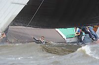 ZEILEN: WOUDSEND: 30-08-2013, SKS Skûtsjesilen, ©foto Martin de Jong