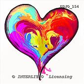 Marie, MODERN, MODERNO, paintings+++++,USJO154,#N# Joan Marie heart