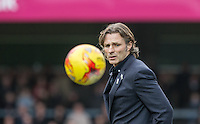 Wycombe Wanderers Manager Gareth Ainsworth during the Sky Bet League 2 match between Wycombe Wanderers and Leyton Orient at Adams Park, High Wycombe, England on 23 January 2016. Photo by Andy Rowland / PRiME Media Images.
