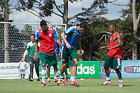SAO PAULO, SP, 21.01.14. TREINO PALMEIRAS. treino do time do Palmeiras no Academia de Futebol na tarde desta terça feira, na Barra Funda, zona oeste da capital paulista. (foto: Adriana Spaca/Brazil Photo Press)