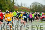 KC Marathon : Pictured at the start of the Kerry Crusaders marathon & 10 K run on Saturday morning last.