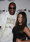 WEST HOLLYWOOD, CA. - October 21: Lamar Odom and Khloe Kardashian arrive at the Lamar Odom launch of Rich Soil Fashion Line at Kitson L.A. on October 21, 2009 in West Hollywood, California.