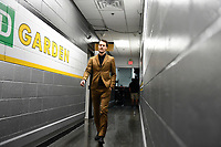 June 6, 2019: Boston Bruins goaltender Tuukka Rask (40) makes his way to the locker room before game 5 of the NHL Stanley Cup Finals between the St Louis Blues and the Boston Bruins held at TD Garden, in Boston, Mass. Eric Canha/CSM