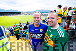 Aidan and Oisin O'Mahony the Munster GAA Football Senior Championship semi-final match between Kerry and Clare at Fitzgerald Stadium in Killarney on Sunday.