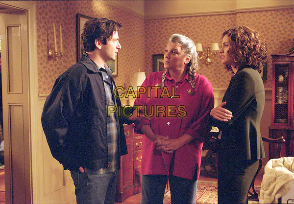 "DAN FUTTERMAN, TYNE DALY & AMY BRENNEMAN.in Judging Amy.""Nobody Expects the Spanish Inquisition"" .Filmstill - Editorial Use Only.Ref: FB.www.capitalpictures.com.sales@capitalpictures.com.Supplied By Capital Pictures."