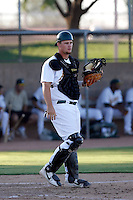 Petey Paramore - Oakland Athletics 2009 Instructional League. .Photo by:  Bill Mitchell/Four Seam Images..
