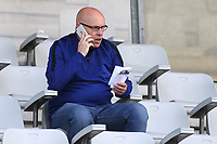 Former Reading Manager and current Arsenal scout, Brian McDermott, was sitting in the stand watching the match during South Korea Under-21 vs Scotland Under-21, Tournoi Maurice Revello Football at Stade Parsemain on 2nd June 2018