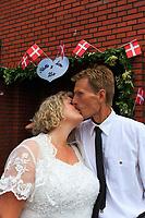 Stella & Leons sølv bryllup, Rebecca Ceciia babtism confirmation