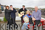 Portmagee prepares for annual May Bank Holiday Weekend of Music, Set Dancing, Ceili, Dancing Workshops & the best of South Kerry Hospitality pictured here l-r; Helen Farmer, Julian Stracey, Gabriel Butler, Beryl Stracey & Ger Kennedy.