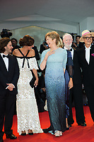 Ildiko Enyedi, David Stratton, Yonfan, Jasmine Trinca, Annette Bening, Anna Mouglalis, Edgar Wright, Michel Franco at the &quot;Closing Ceremony Red Carpet&quot; at the 74th Venice Film Festival in Italy on 9 September 2017.<br /> <br /> Photo: Kristina Afanasyeva/Featureflash/SilverHub<br /> 0208 004 5359<br /> sales@silverhubmedia.com