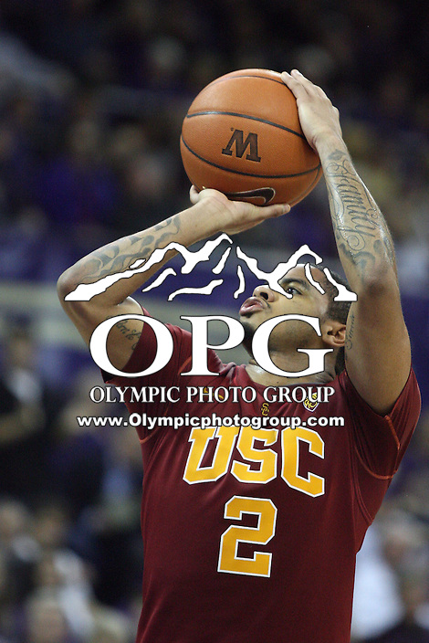 Mar 05, 2011:  USC's #2 Jio Fontan attempts free throw against Washington.  USC defeated Washington 62-60 at Alaska Airlines Arena Seattle, Washington...