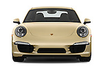 Straight front view of a 2012 Porsche Carrera S Coupe