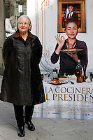 Daniele Delpeuch attend photocall the film 'La cocinera del presidente' at Golem cinema. March 21, 2013. (ALTERPHOTOS/Tony Molina) /NortePhoto