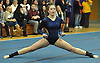 Heidi Baldinger of Massapequa performs her floor routine during a Nassau County varsity gymnastics meet against Plainview JFK at McKenna Elementary School on Monday, Feb. 1, 2016. She scored an 8.7 in the event.