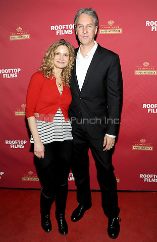 New York, NY- December 8:  Kyra Sedgwick and Angus MacLachian attend the Rooftop Films and Piper-Heidsieck New York Premiere of 'Goodbye To All That' on December 8, 2014 at the Highland Ballroom in New York City. Credit: John Palmer/MediaPunch