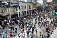 6th Street (Sixth Street) is host to dozens of SXSW Official Venues for band showcases, concerts and high-tech parties and new app launches.