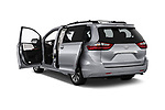 Car images close up view of a 2018 Toyota Sienna Limited FWD 5 Door Mini Van doors