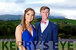 Eimear Ní Bhrosnacháin and Eoghan O'Buachalla   attending the Presentation Tralee Debs in the Ballyroe Hotel on Tuesday.