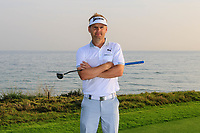 S&oslash;ren Kjeldsen (DEN) during previews ahead of the first round of the NBO Open played at Al Mouj Golf, Muscat, Sultanate of Oman. <br /> 14/02/2018.<br /> Picture: Golffile | Phil Inglis<br /> <br /> <br /> All photo usage must carry mandatory copyright credit (&copy; Golffile | Phil Inglis)