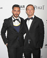 Lorenzo Martone and Michael Clemens attending amfAR's third annual Inspiration Gala at the New York Public Library in New York, 07.06.2012..Credit: Rolf Mueller/face to face /MediaPunch Inc. ***FOR USA ONLY***