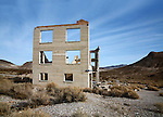 Standing In Mute Testimonial To A Bygone Era, Rhyolite Nevada, An Abandoned Town Near Death Valley