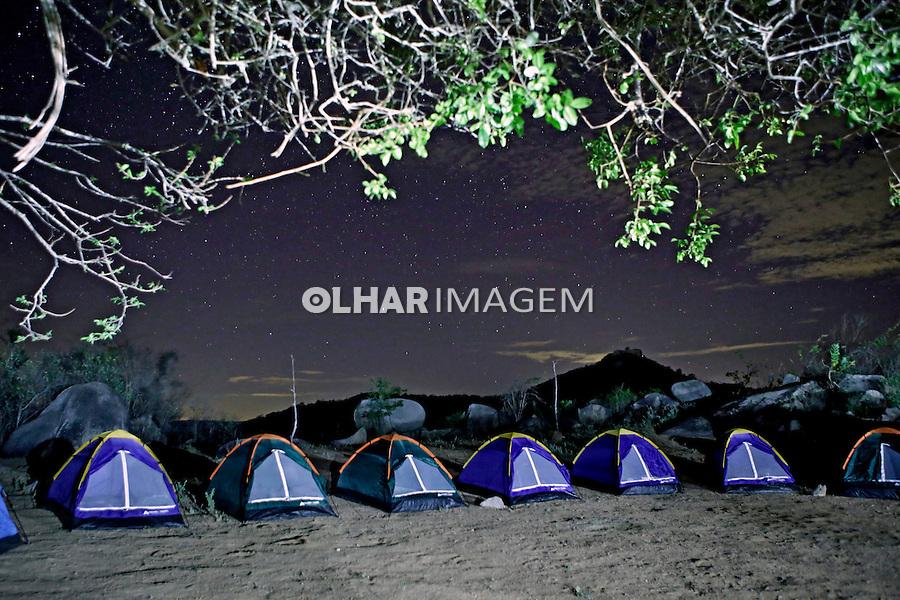 Acampamento no Lajedo do Marinho. Boqueirao. Paraiba. 2015. Foto de Kleide Teixeira.