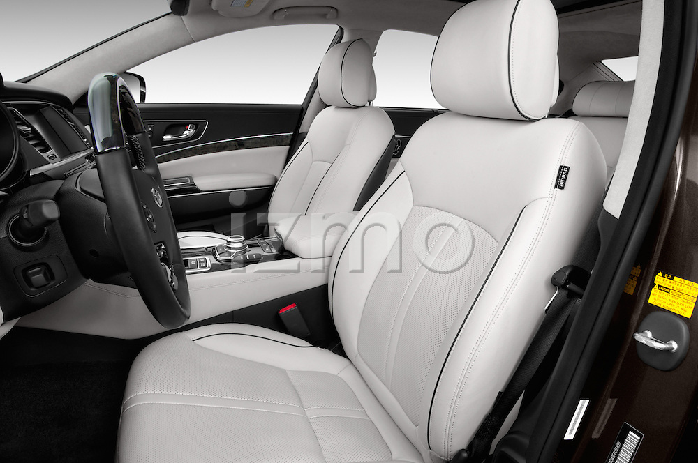 Front seat view of a 2015 KIA K900 Base 4 Door Sedan