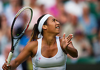 England, London, 26.06.2014. Tennis, Wimbledon, AELTC, Heather Watson (GBR)<br /> Photo: Tennisimages/Henk Koster