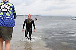 "Graham Kelly at the Clogherhead ""Round the Head Swim""....(Photo credit should read Jenny Matthews/NEWSFILE)..."