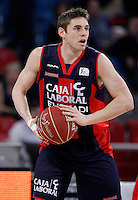 Caja Laboral Baskonia's Fabien Causeur during Spanish Basketball King's Cup match.February 07,2013. (ALTERPHOTOS/Acero)