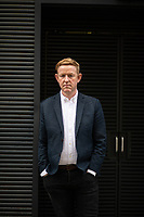 The chief executive of Relate, Chris Sherwood photographed in the streets near the Relate headquarters in London. Sherwood has talked about his personal experience with domestic abuse. Sherwood joined Relate in 2012 as Director of Policy, Communications and Digital Services. Since joining the organisation he has been instrumental in devising the 2015-18 Corporate Strategy, developing our digital services, and growing our influencing and campaigning voice. Chris was appointed CEO in July 2015.<br /> <br /> Chris joined Relate from Scope where he was the Director of Innovation and Development. He was previously a Senior Development Manager at Nesta where he led their work on Co-production, People Powered Health and Ageing.